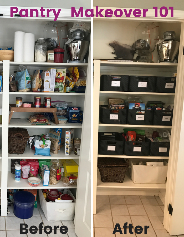 Pantry Makeover Pic